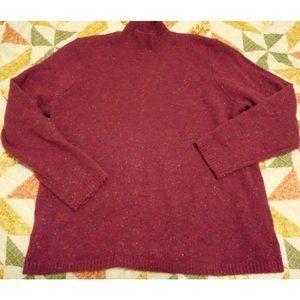 Cj Banks WoMEN'S Plus SZ 1x Pinkish Purple Sweater